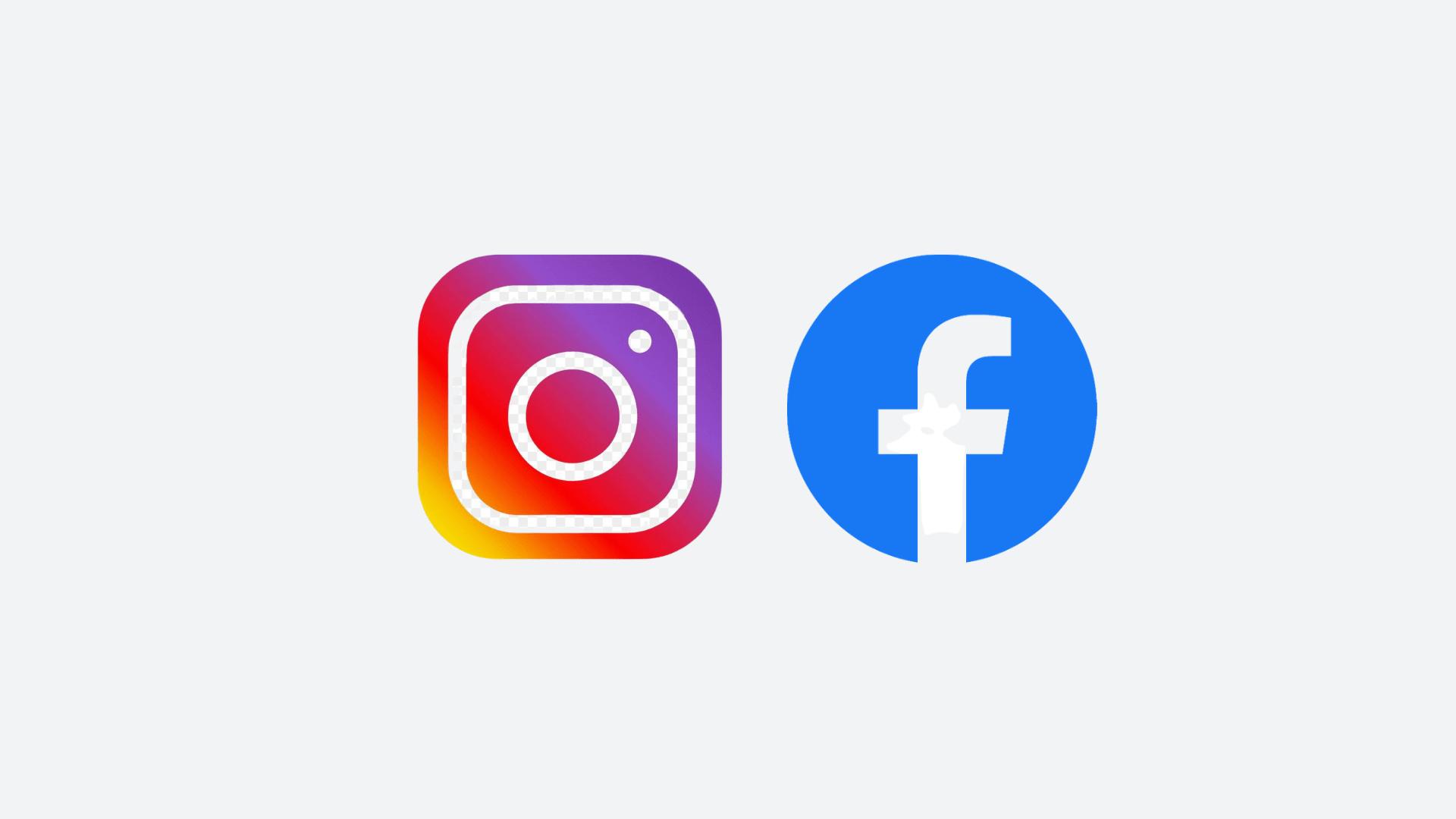 Logo Instagram & Faebook